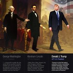 George, Abe and Donald