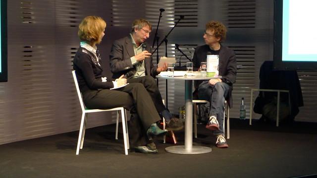 Mark Schaevers en Arnon Grunberg