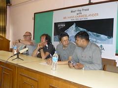 Meet The Press mit Hans Kammerlander