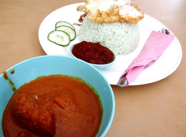 Diandianlai Cafe nasi lemak special