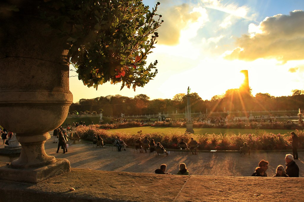 Autumn in Paris - Le Jardin du Luxembourg, Paris