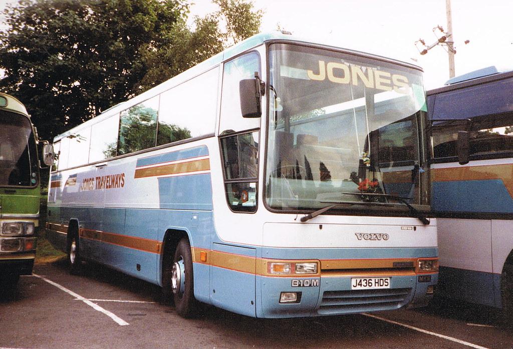 Jones Coachways Market Drayton J436 Hds Volvo B10m