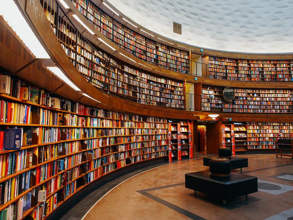 Stockholms stadsbibliotek, Stockholm | square(tea) | Flickr