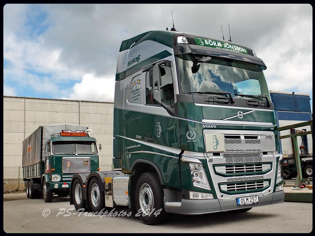 Volvo Fh13 500 Globetrotterxl Euro6 Bj Trucks B 246 Rje J 246 Ns