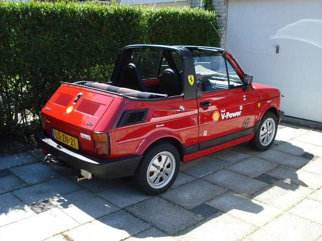 1995 bosmal cabrio 650 polski fiat 126p flickr photo sharing. Black Bedroom Furniture Sets. Home Design Ideas