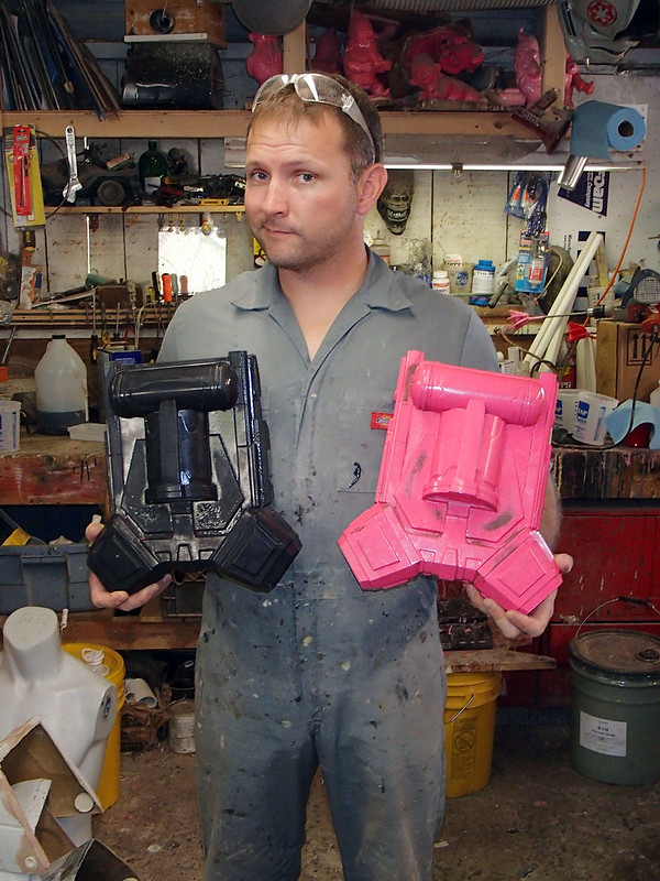 First Shae Jetpack Cast with Prototype