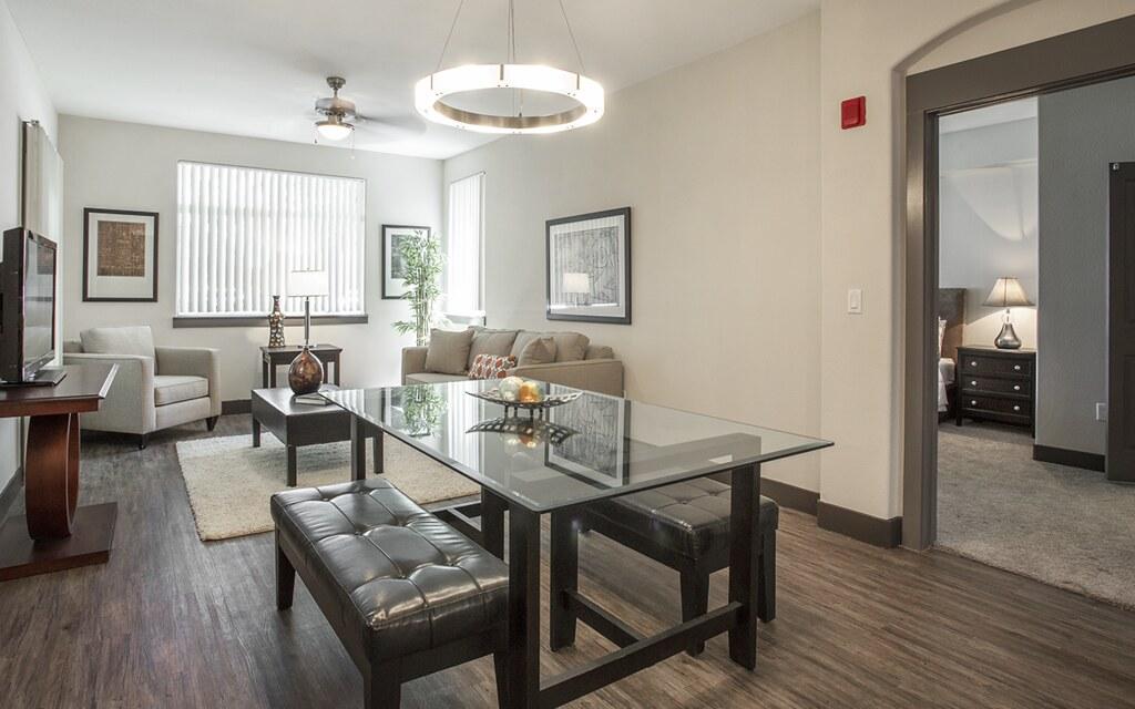 Madison Apartments Valencia Ca Model Unit Living Room Dini
