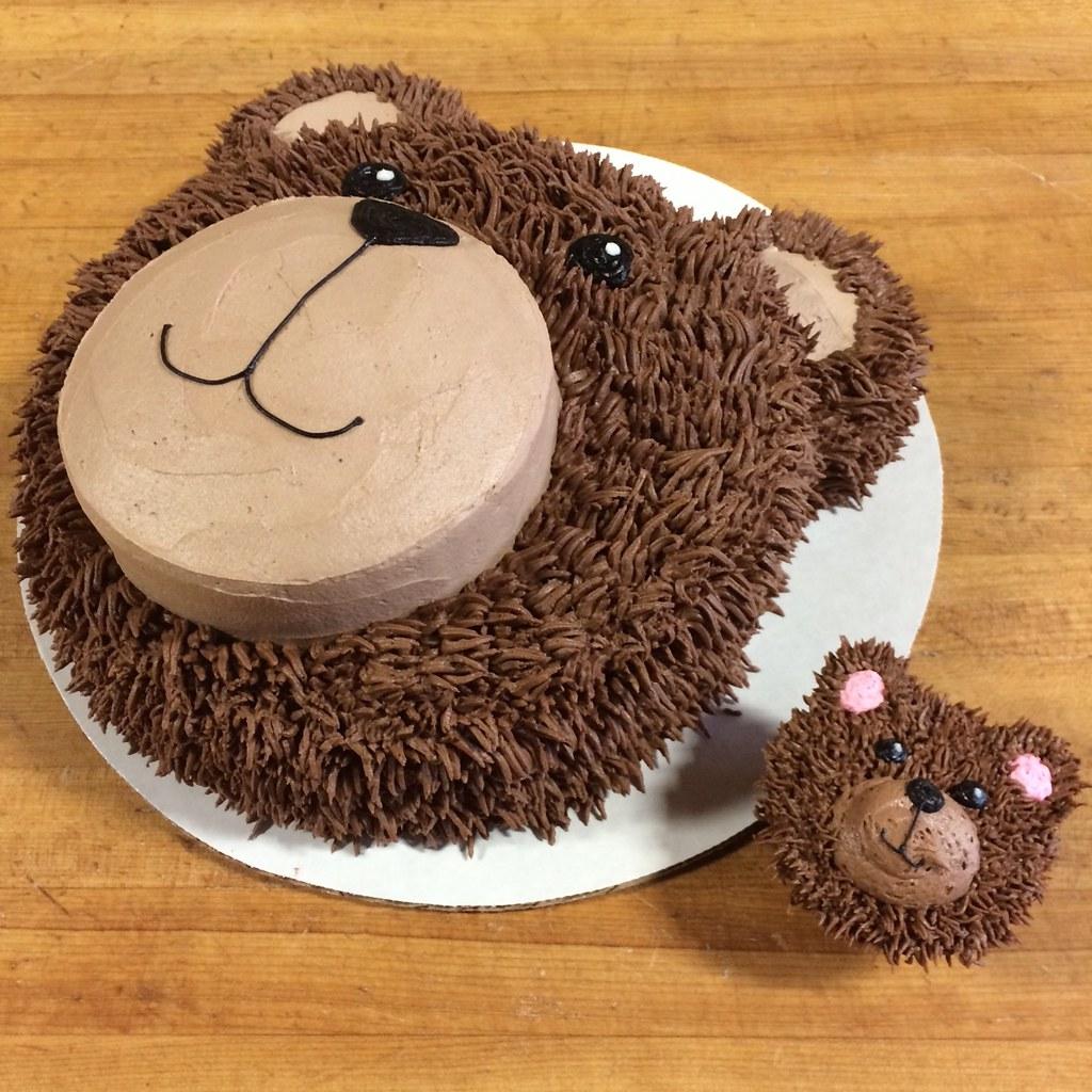 Bear Face Cake Pan
