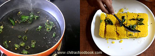 Microwave dhokla recipe