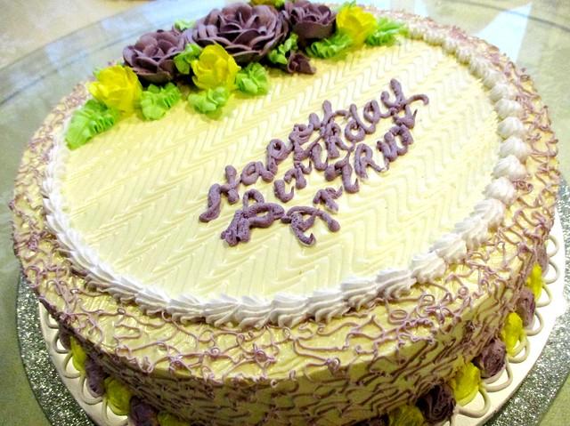 Birthday cake by Marcus