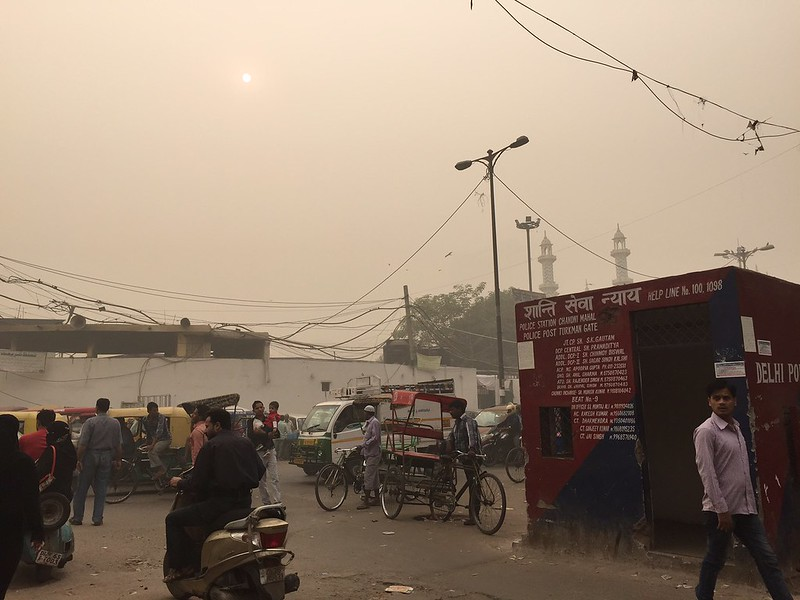 City Season - Finding a Poet, etc, in the World's Most Poisonous Smog, Around Delhi