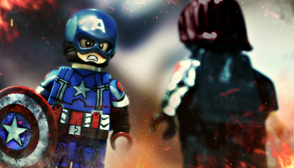 "LEGO Captain America (Golden Age) - Preview | ""I'm not ..."