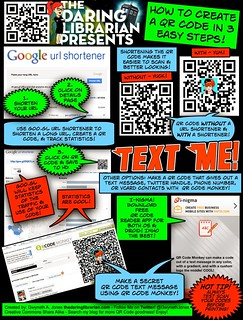 QRCode_HowTo_3EasySteps | by The Daring Librarian