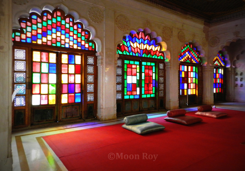 royal palace, mehrangarh fort, meeting room, jodhpur, rajasthan