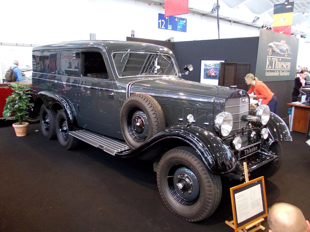 Mercedes Benz G4 Gep 228 Ckwagen 1939 Techno Classica Essen