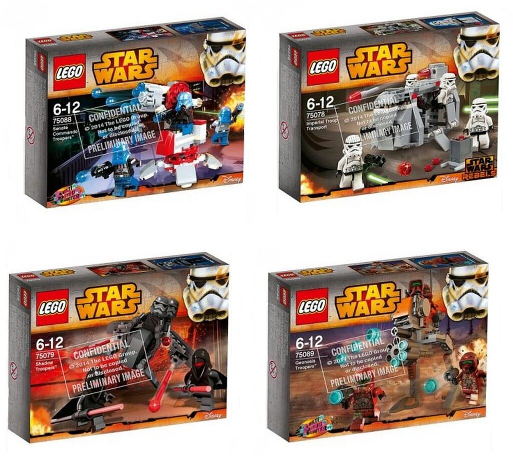 Pics For > Lego Star Wars 2015 Battle Packs