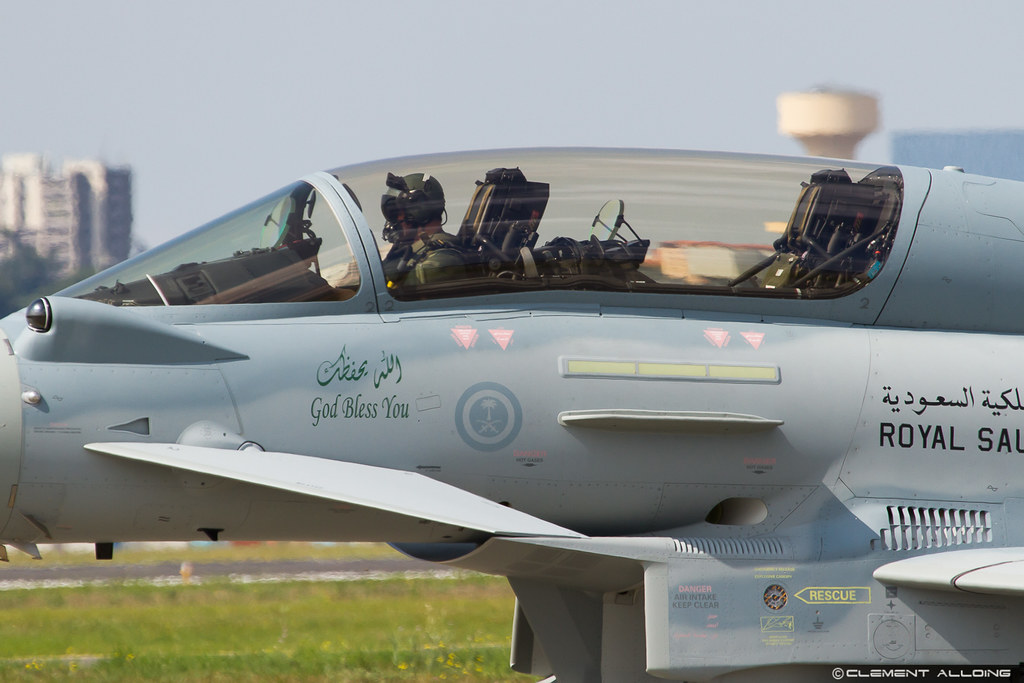 Eurofighter Ef 2000 Typhoon Saudi Arabia Air Force Cn 10
