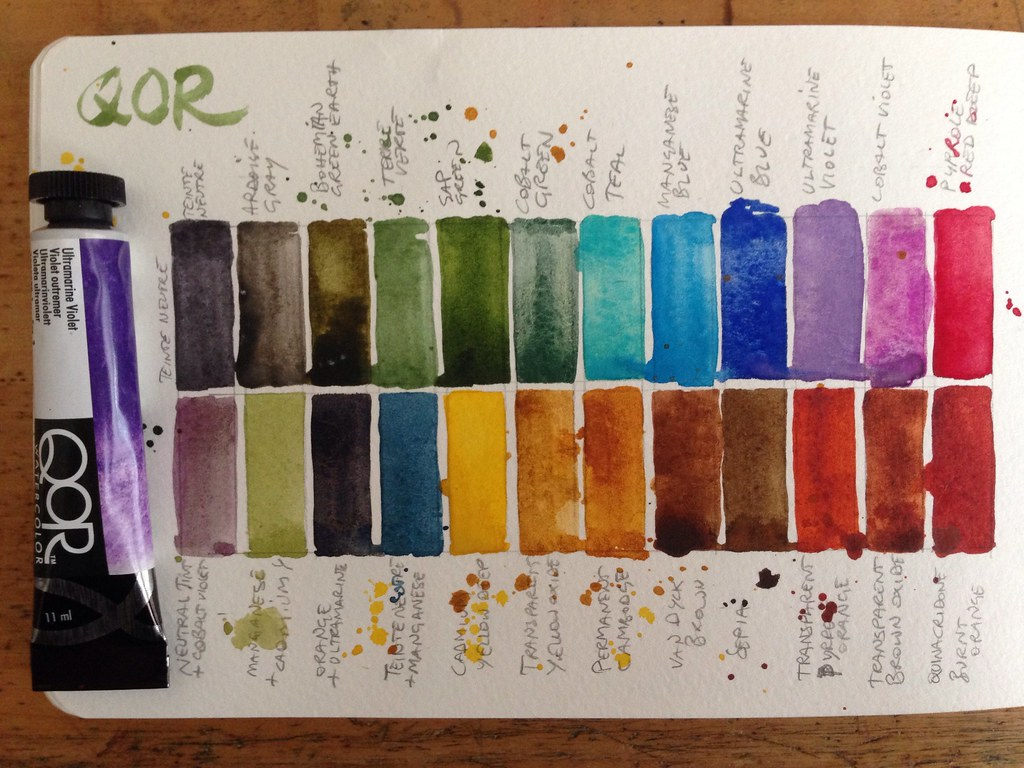 Qor Watercolor Barbara Luel Flickr