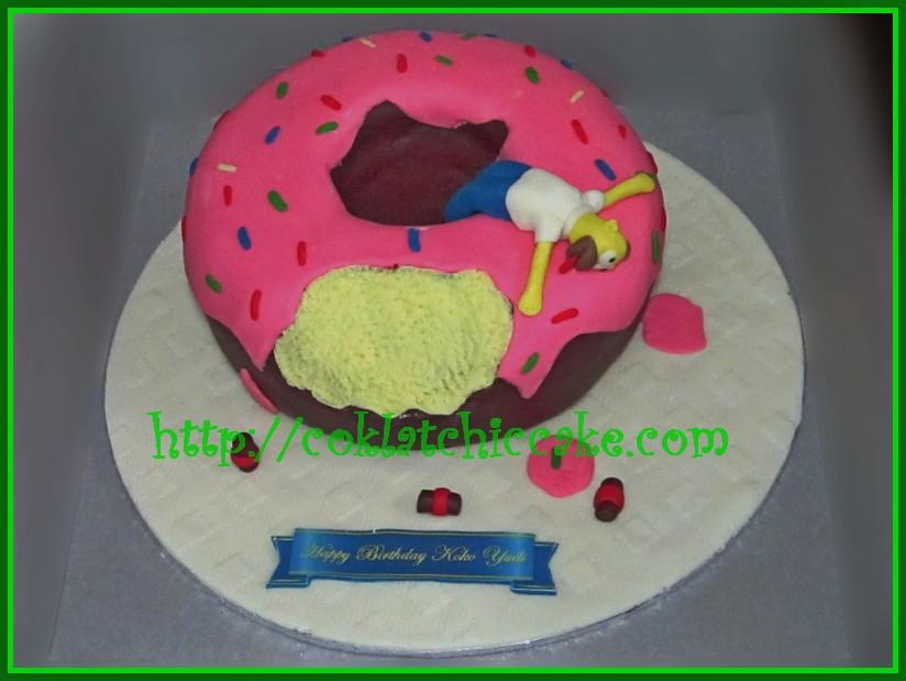 Cake Homer Simpson