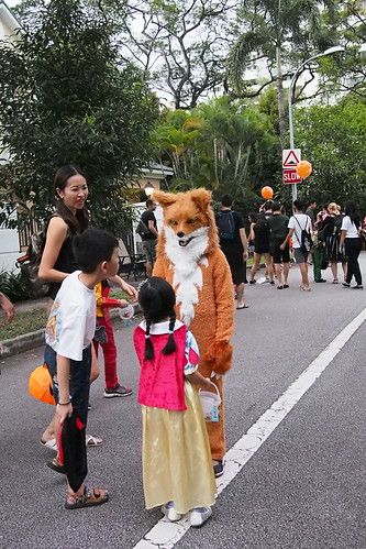 Fantastic Mr. Fox. Halloween 2016 at Woodgrove, Woodlands, Singapore