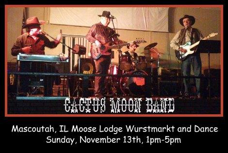 Cactus Moon Band 11-13-16