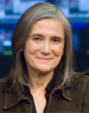 Amy Goodman - 2016 Prince Albert II & UNCA Global Gold Medal Recipient