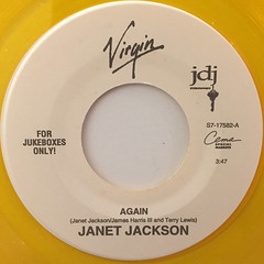 JANET JACKSON:AGAIN(LABEL SIDE-A)