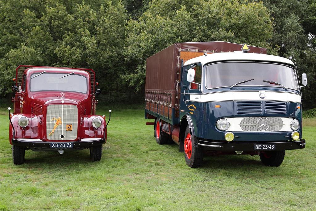 mercedes benz oldtimer trucks appie deijcks photography. Black Bedroom Furniture Sets. Home Design Ideas