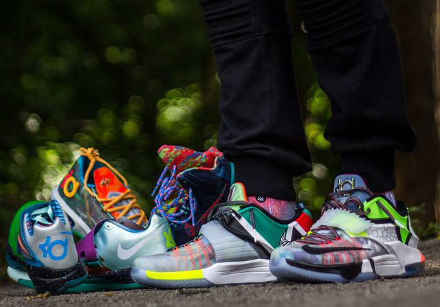 On Feet Look at the Nike KD 7 'What The' 3