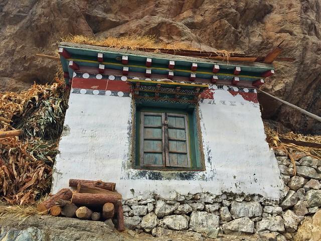 Pequeño templo tibetano en Yunnan (China)