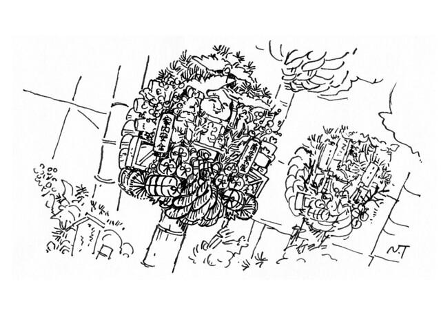 酉の市の熊手(東京都)