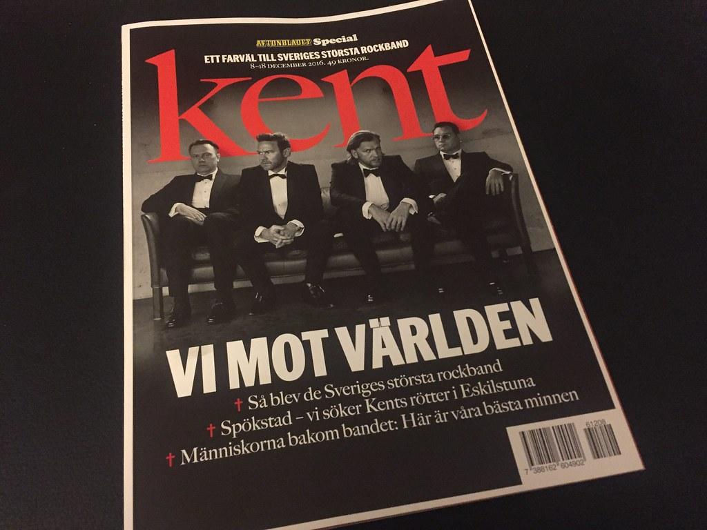 Kent-bilagan Ett farväl till Sveriges största rockband
