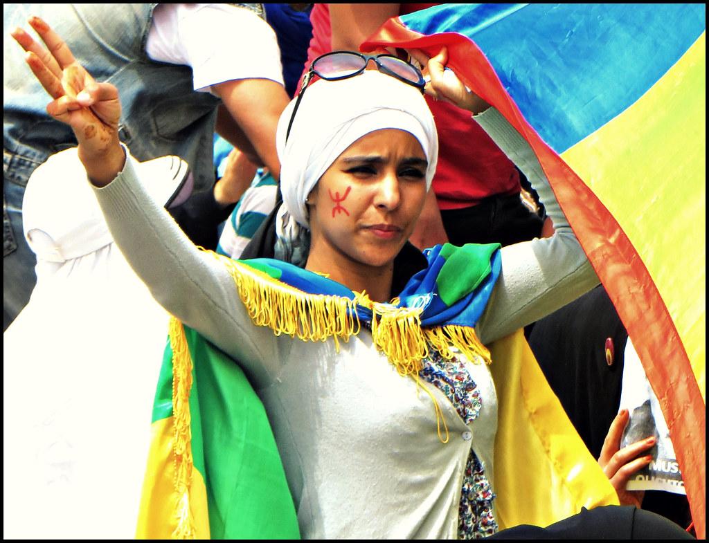 Imazighen - Face in the Crowd - Young Woman, Agadir 2014 ...