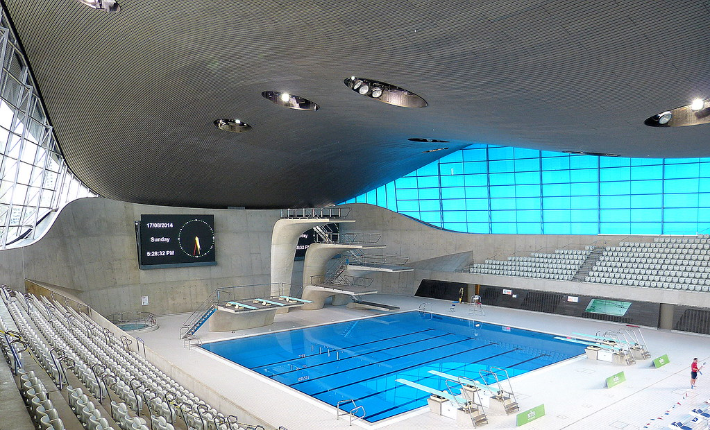 Queen elizabeth park olympic swimming pool enviro - Queen elizabeth olympic park swimming pool ...