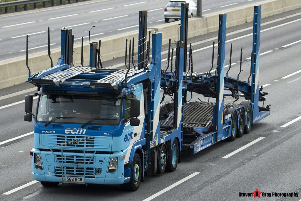 Volvo FM 400 6x2 Car Transporter - S88 ECM - ECM - M1 J10 …   Flickr