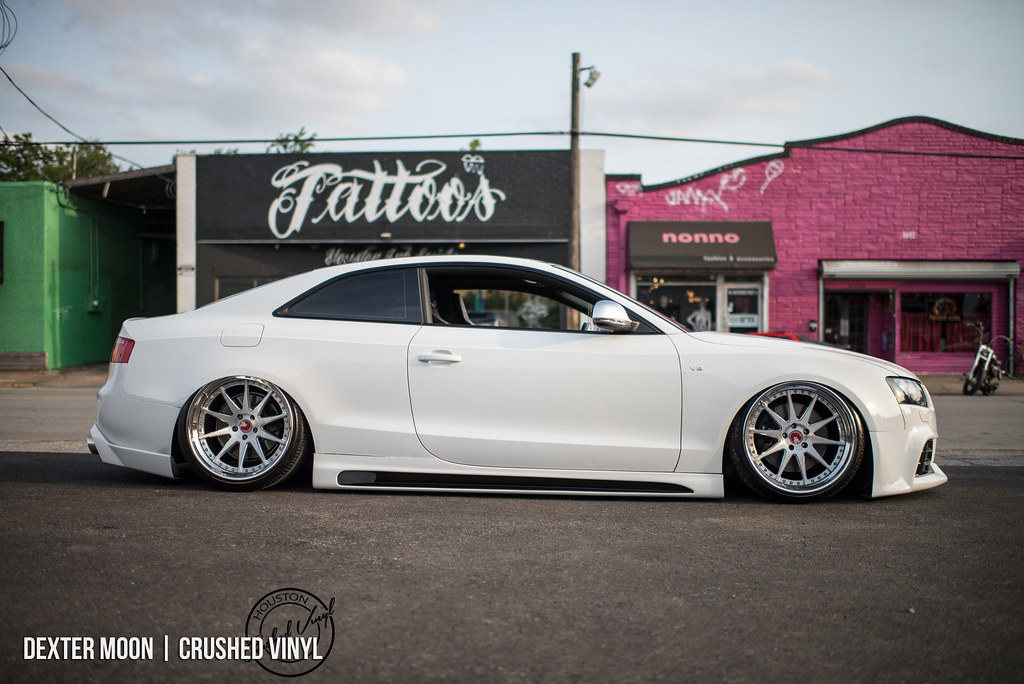 Bagged Audi S5 Thomas Ho From Team Prospekts In Houston