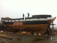 Construcción de la réplica del HMS Beagle 321 (1)