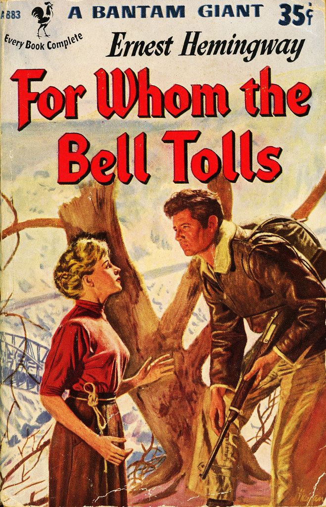 An overview of the novel for whom the bell tolls by ernest hemingway