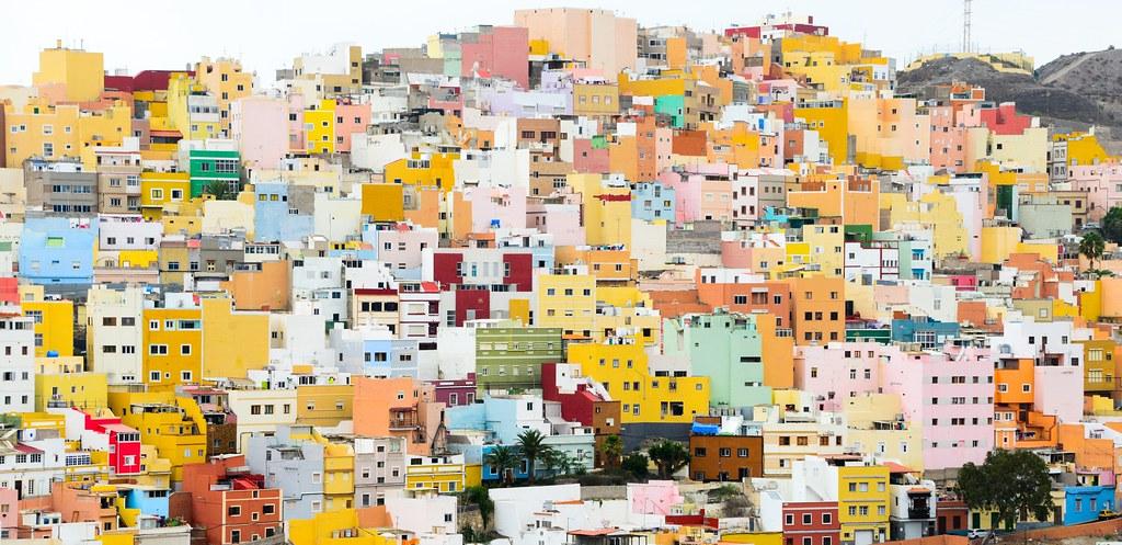 Colours of san juan las palmas de gran canaria the - Capital de las palmas ...