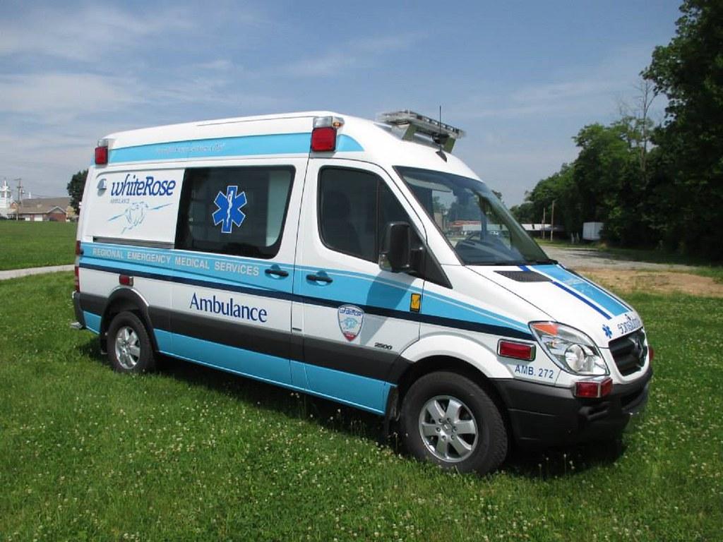 Pennsylvania ambulance a mercedes benz sprinter 2500 for Mercedes benz york pa