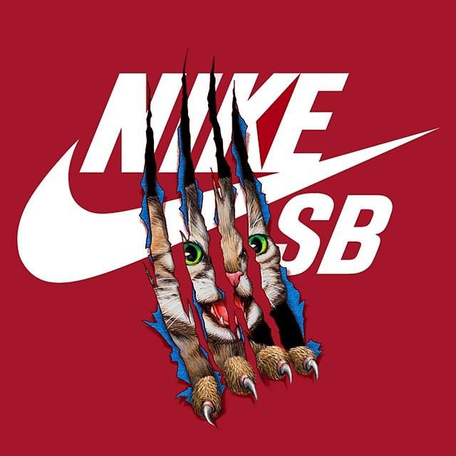Nike Sb Cat T Shirt