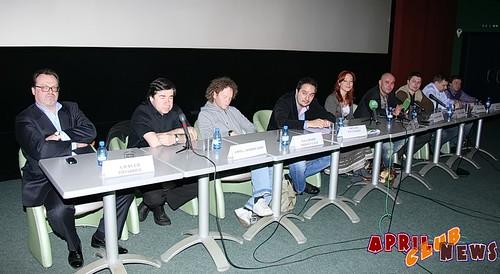 Пресс-конференция фильма «Глухарь в кино»