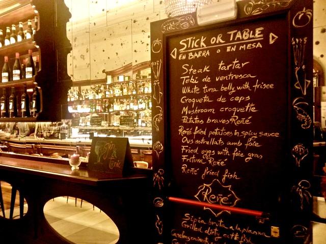 Restaurant Reñé Barcelona