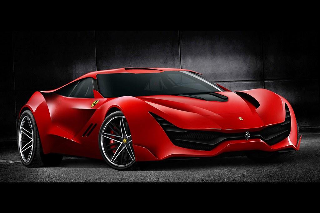 Ferrari Coscorosso Concept By Dejan Hristov Hypercar Flickr