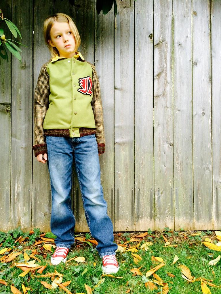 Letterman Jacket (Bundle Up Boy Blog Tour)