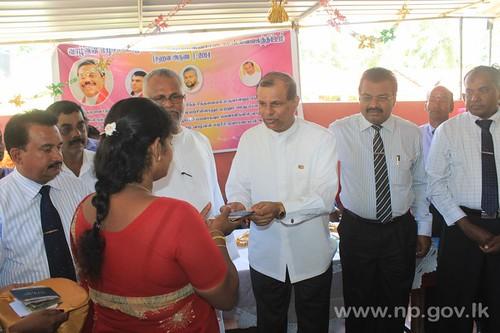 Sahana Aruna loan scheme launched at Kondavil – 01 September 2014