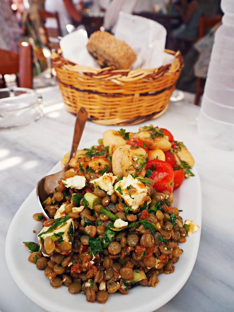 Agios Sostis beach Mykonos Kiki's Tavern 2