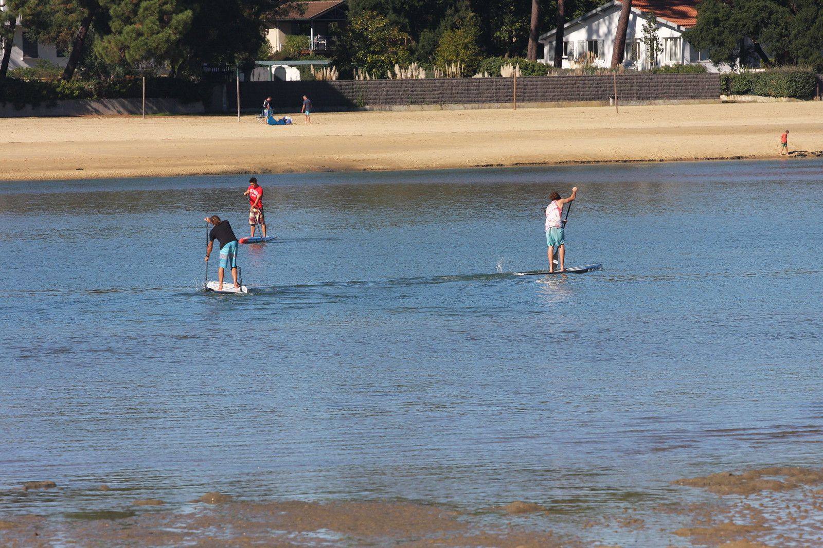 INITIATIONS SUP STAND UP PADDLE LAC HOSSEGOR