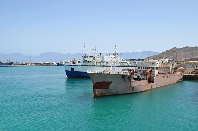 Harbour, Mindelo, Sao Vicente, Cape Verde