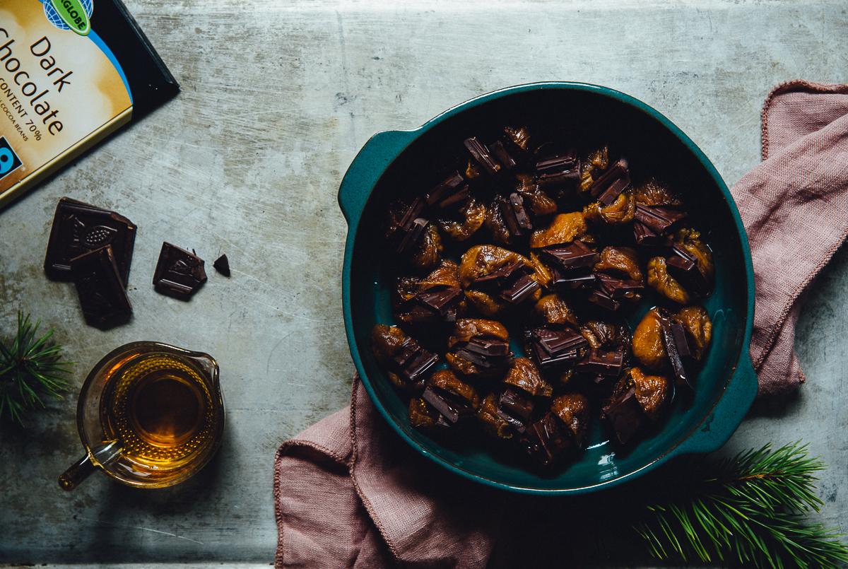 Warm Chocolate & Mulled Wine Figs   Cashew Kitchen